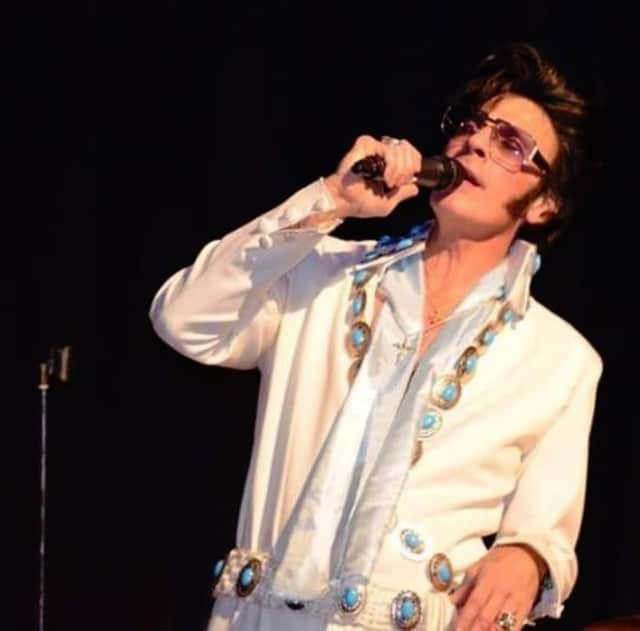 Anthony Liguori Jr. will play the role of Elvis in a tribute show that will benefit the St. Joseph High School UNICO chapter.