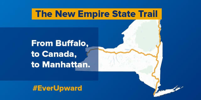 The Empire State Trail, proposed by Gov. Andrew M. Cuomo, would be the nation's largest state multi-use trail network.