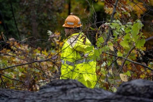 Utility crews in the Hudson Valley are working to restore power to thousands.