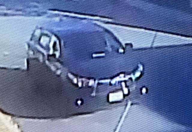 Garfield police asked that anyone with information that could help find the SUV and/or the driver Immediately call them: (973) 478-8500.