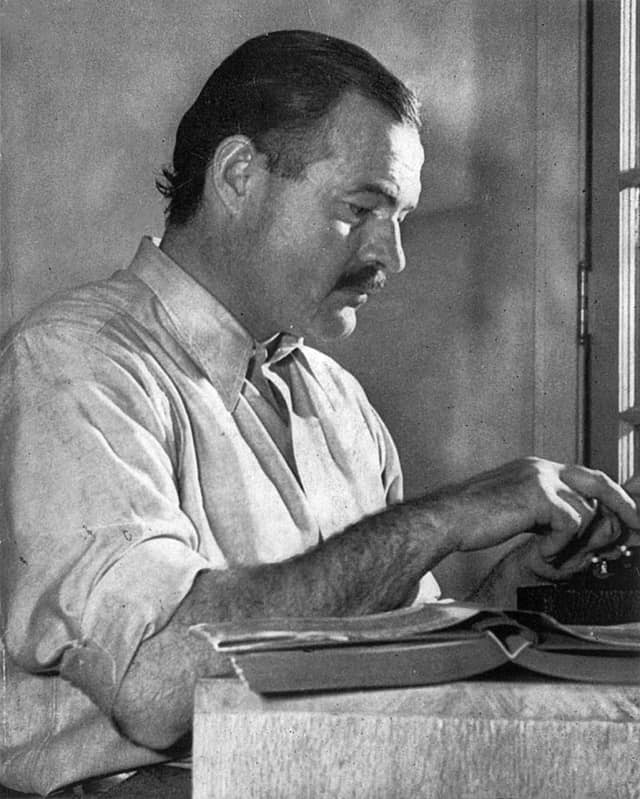 Ernest Hemingway was a one-time Pulitzer Prize winner; the award turned 100 this year.