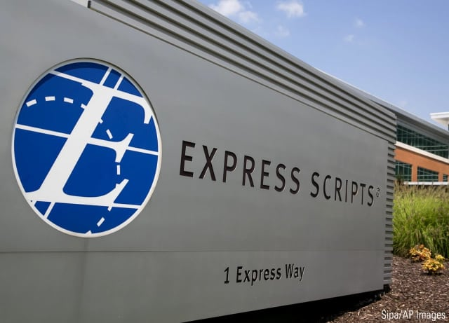 Express Scripts Holding Co. is laying off employees based at its Franklin Lakes facility.