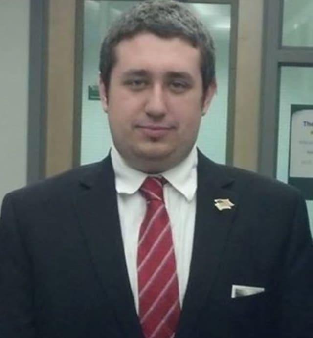 Ossining Village Trustee candidate Luke Carbonaro.