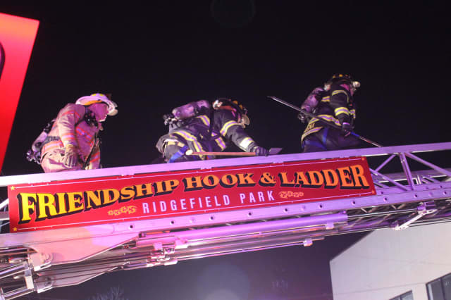 Ladder trucks made the difference for Ridgefield Park firefighters/