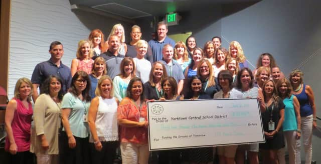 The Foundation for Excellence in Yorktown Education announced they are awarding $39,000 in grants.