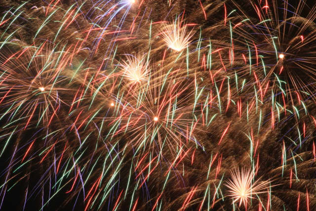 Fireworks at Rye's Playland Amusement Park draw folks from all over the county.