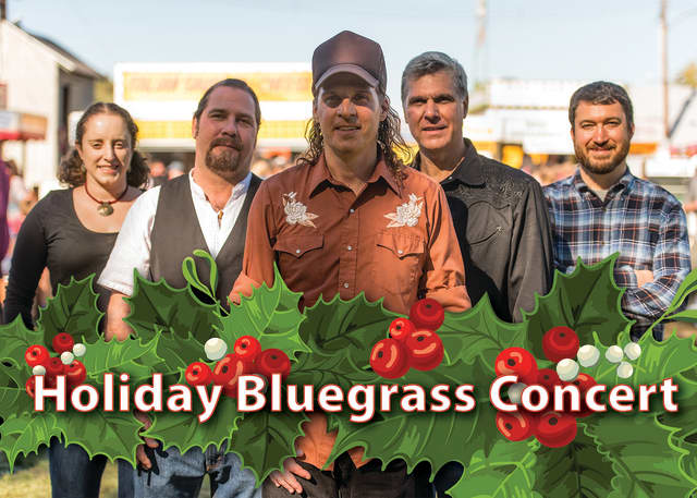 The Stratford Library will present a holiday concert with a bluegrass flavor featuring Five in the Chamber.