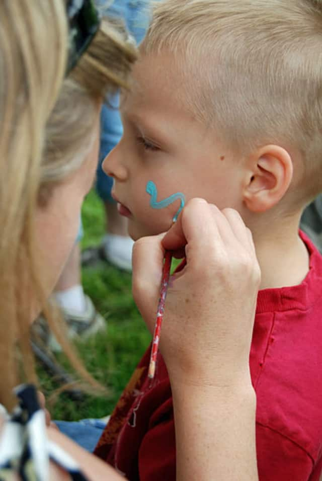 New Fairfield Day is to feature a variety of community groups and attractions, including face painting for the children.