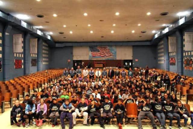 Memorial Middle School students.