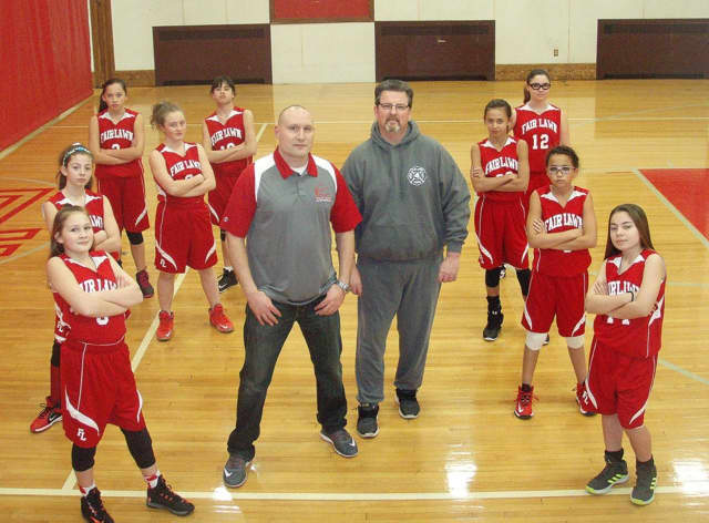 Fair Lawn All-Sports sixth-grade girls travel basketball team