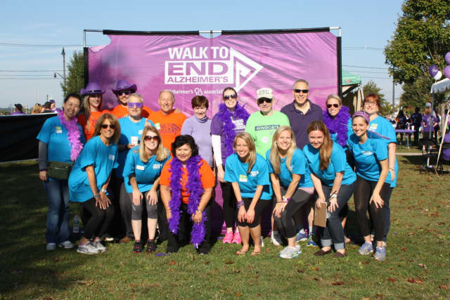 The Connecticut Chapter of the Alzheimer's Association will host its annual walk from 8:30 a.m. to 1 p.m. Sunday at Calf Pasture Beach in Norwalk.