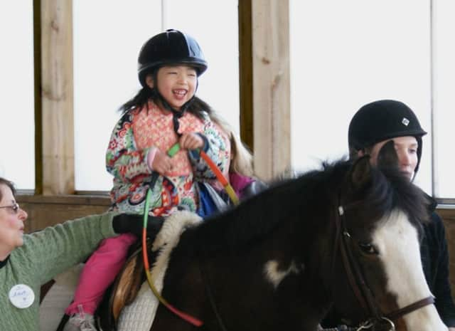 The Arnhold Foundation has donated $2 million in the name of former volunteer Shelly Arnhold to the Pegasus Therapeutic Riding program.