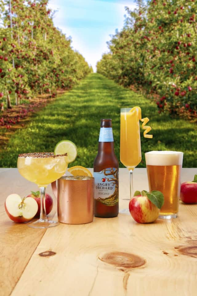 Cocktails by Angry Orchard.