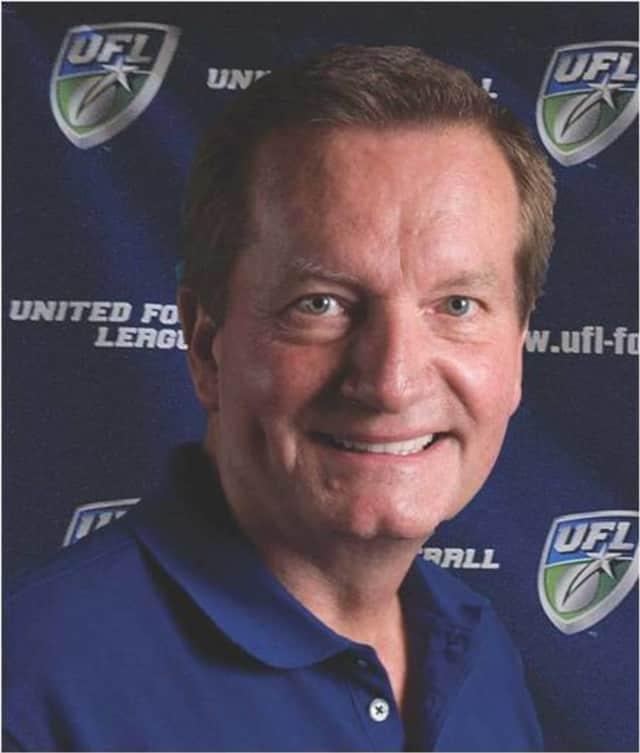 Former New York Giants coach and ex-Ho-Ho-Kus resident Jim Fassel.