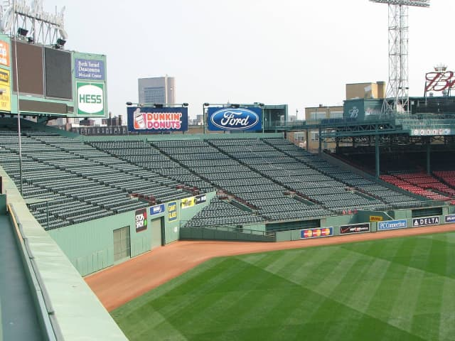 The Red Sox had to call off Opening Day due to rain.