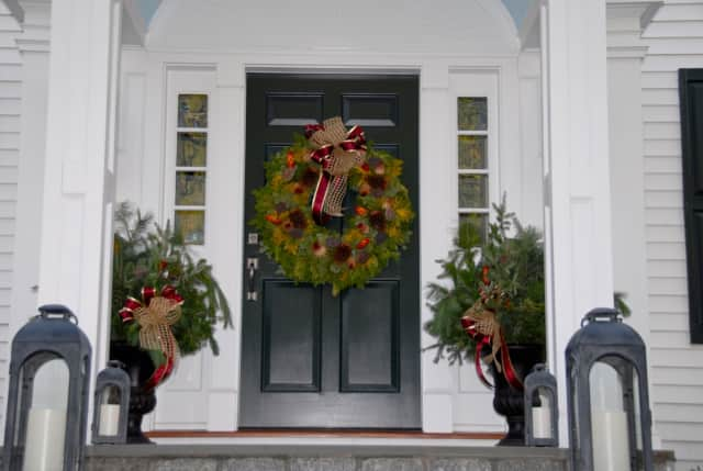 The public is invited to stroll through homes decorated for the holidays, like this from the 2014 event.