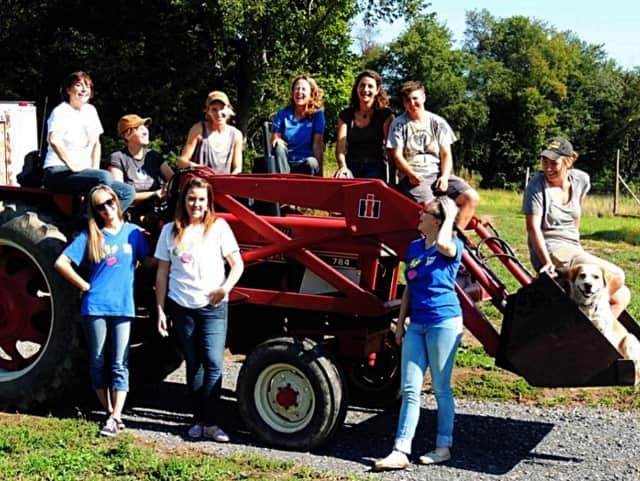 Field Goods staff and farm folks too, in the fall of 2015