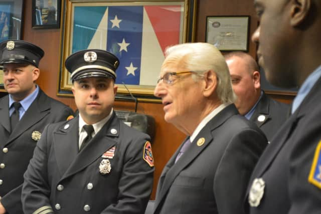 The Firefighter Investment and Response Enhancement (FIRE) Act, crafted and shepherded by Pascrell, is funding the grant, bringing the total awarded to Elmwood Park firefighters so far to $453,386.