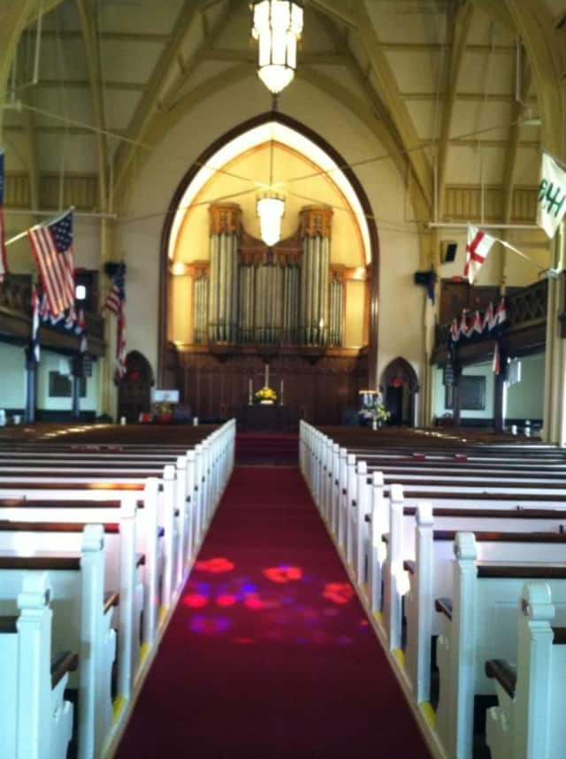 First Congregational Church of Stratford will hold its annual New Orleans-style jazz worship service, Fat Sunday, on Sunday staring at 10 a.m.