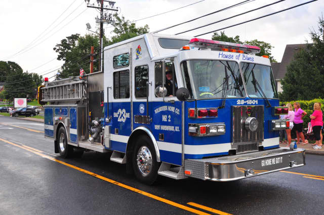 Eight people were displaced after a Friday night fire in West Haverstraw.
