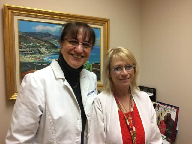 Vicky Fliman, RN, Patient Navigator and Holly Homa, RN-BC, Certified Diabetes Educator