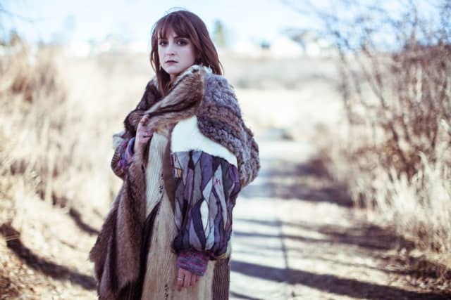 Cassandra Saulter repurposes furs into new fashions. Photograph by Ryon Odneal. Courtesy Cassandra Saulter.