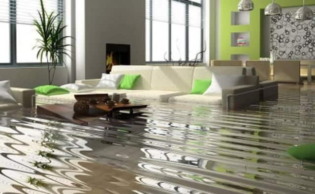 Water damage makes up 45 percent of all interior property damage.