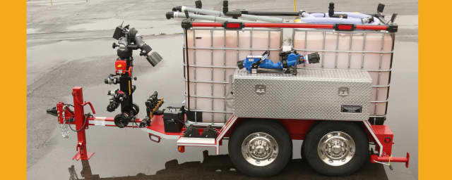 The state is providing 19 foam/fire fighting trailers to several areas including Rockland County.