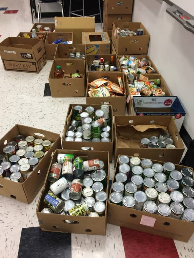 The Alzheimer's Association Hudson Valley Chapter is collecting canned foods for the Food Bank for Westchester.
