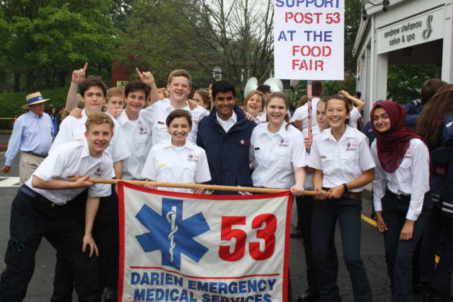 The Post 53 Food Fair will follow Darien's Memorial Day Parade on Monday.