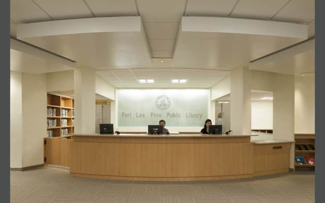 Fort Lee Public Library.