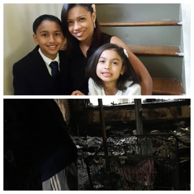 A GoFundMe campaign has been started to help a single mom and her two young kids following a fire that destroyed their Bloomfield home