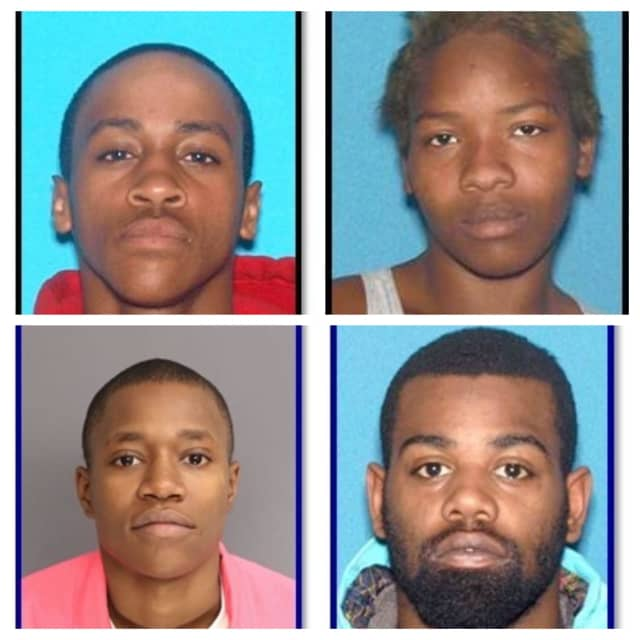 (Clockwise from top left): Baldwin-Elliott, Bass, Johnson and Shell