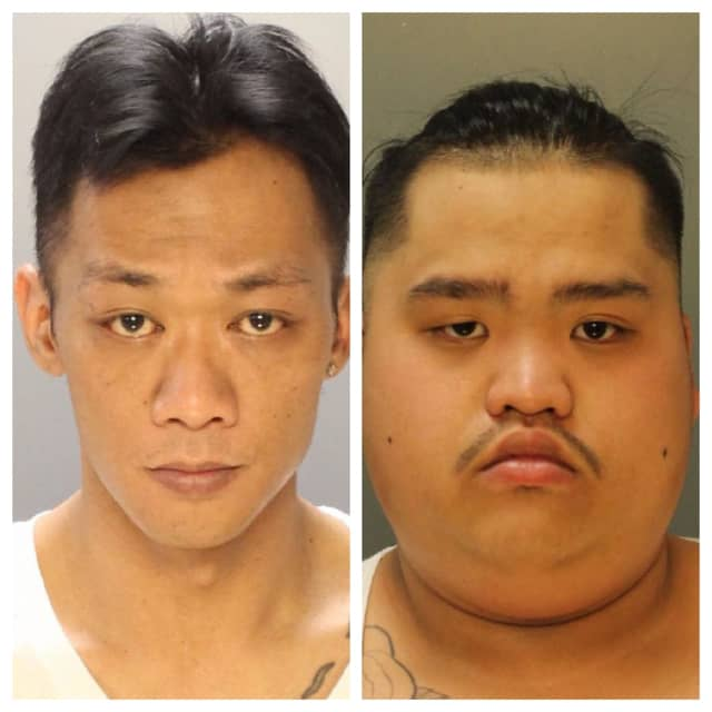 (L-R): John To, 36, and Andy Nguyen, 23
