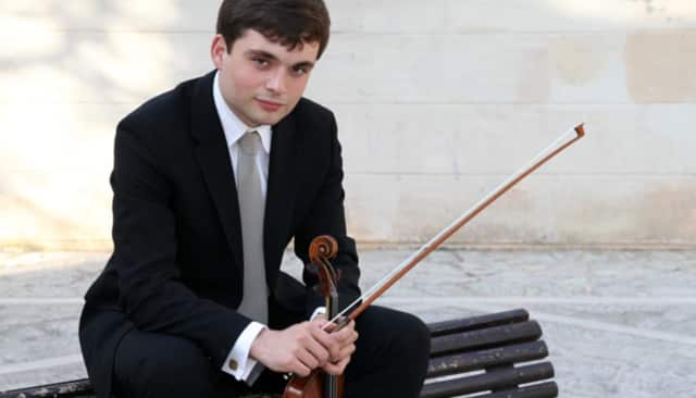 The Bedford Chamber Concert Series begins with Francisco Fullana performing Tchaikovsky's Violin Concerto in D.