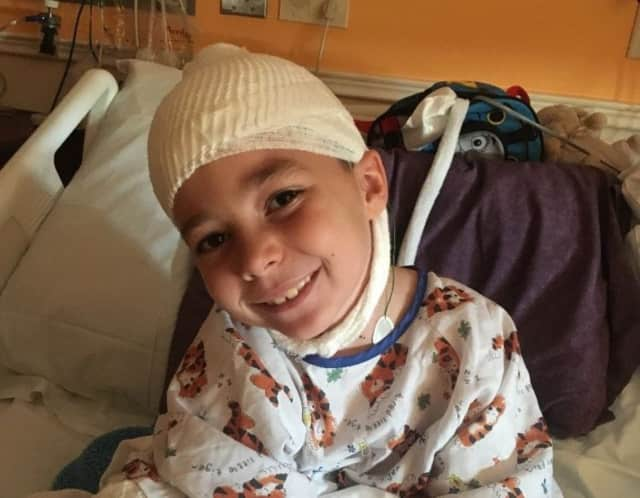 Funds are being raised for Frankie.