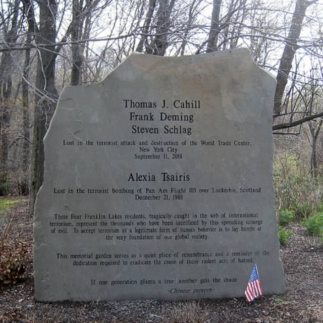 Franklin Lakes will hold its annual 9/11 commemoration service at 6 p.m. on Sept. 11.
