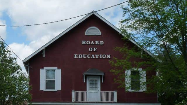 The Franklin Lakes Board of Education