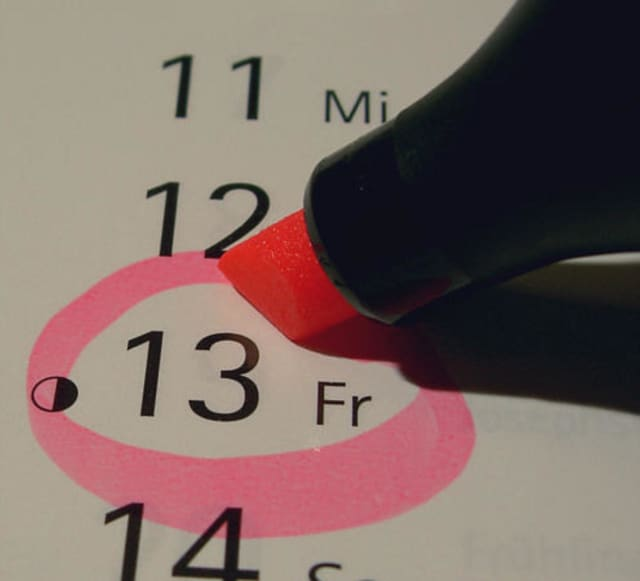 Friday the 13th is Friday, March 13. It will come again in 2020 on Nov. 13.