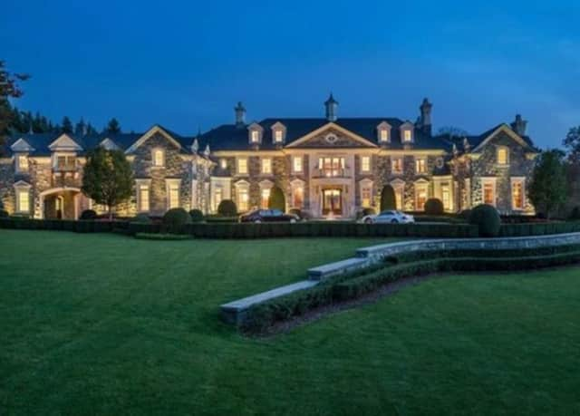 The property tax bill on this Alpine home is among the highest in New Jersey.