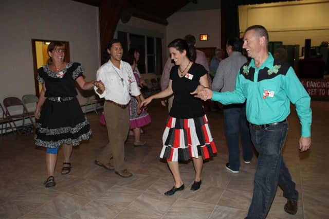 Free square dancing in celebration of National Square Dancing Month takes place in Katonah.