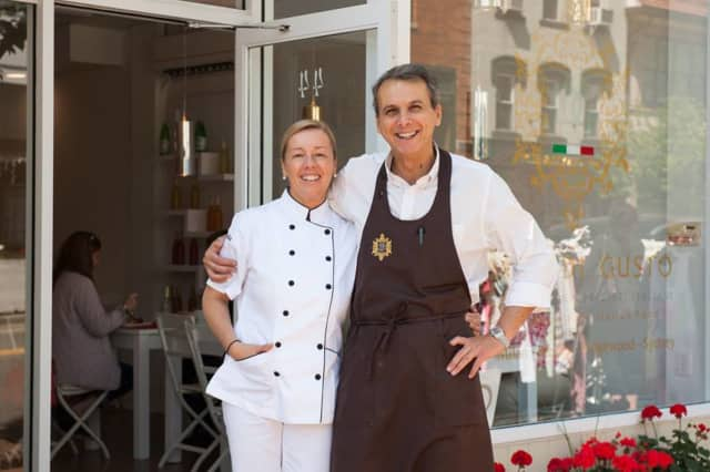 Claudia Rovegno and Roberto Santagati own From Scratch in Ridgewood.
