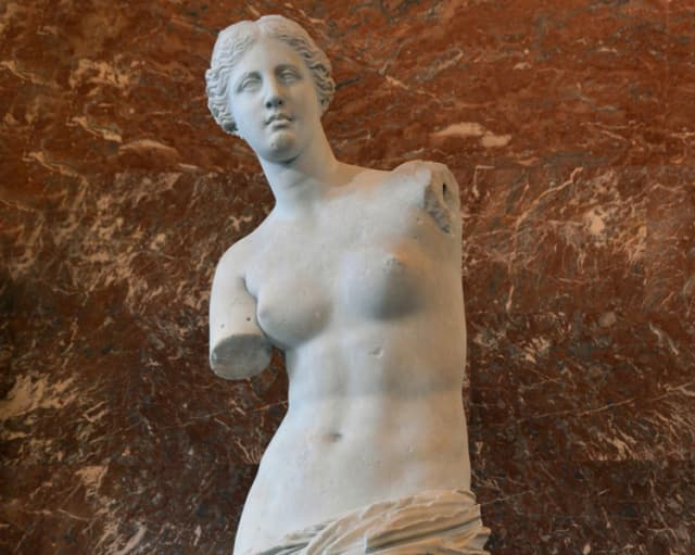 Venus de Milo. Musée du Louvre.