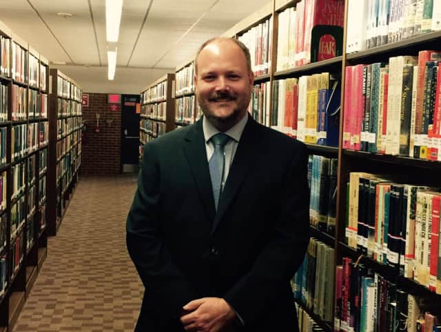 Stefan Lyhne-Nielsen is the new library director in Trumbull.
