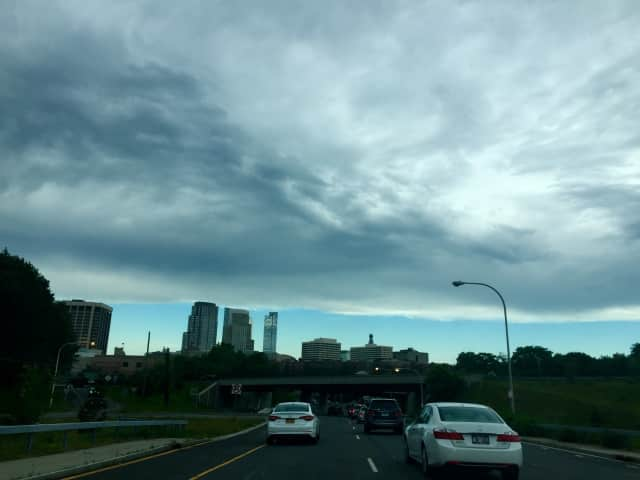 "A Daily Voice reader emailed this photo of White Plains' rising skyline. The up-and-coming city and Westchester County seat made a national livability ranking of top ""places to live."" Its skyline includes 10 buildings that are 17 stories or higher."