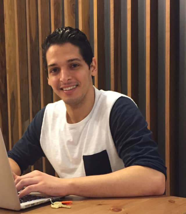 Pace alum Mohamed Merzouk's new app is hoping to revolutionize the way New Yorkers order food.