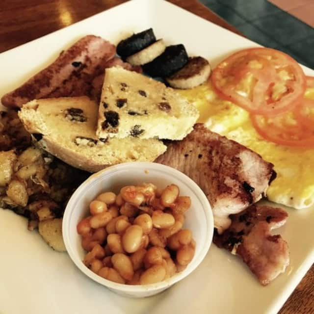 A traditional Irish breakfast at Celtic Kitchen in New Milford.