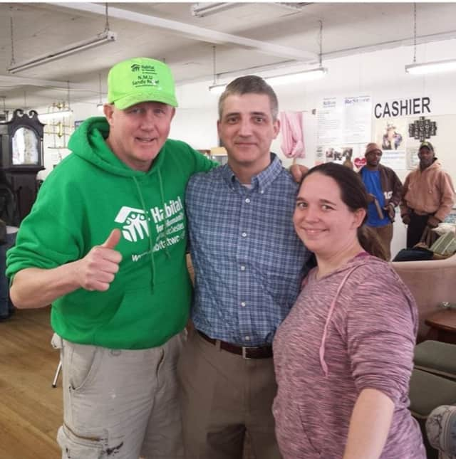 Habitat for Humanity held its third annual Love a Veteran event in New Rochelle.