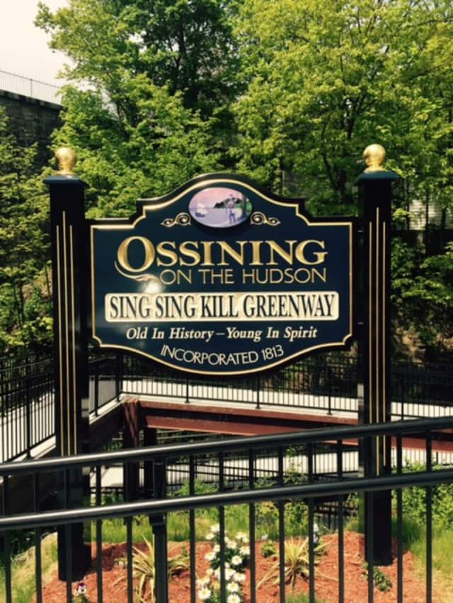 The newly minted Sing Sing Kill Greenway in Ossining will receive a Planning Achievement Award from the Westchester Municipal Planning Federation in June.