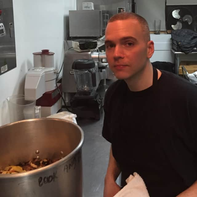 Daniel Testa, the owner/chef behind Fifty-two Soups.